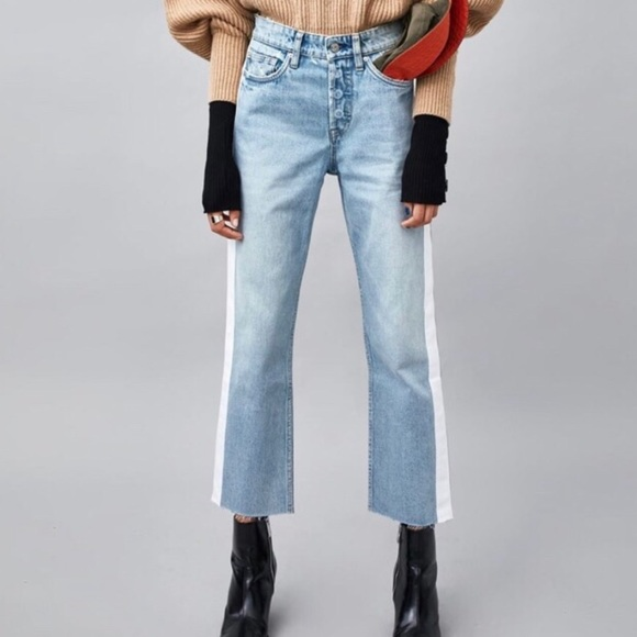 Zara Denim - Zara high waisted jeans
